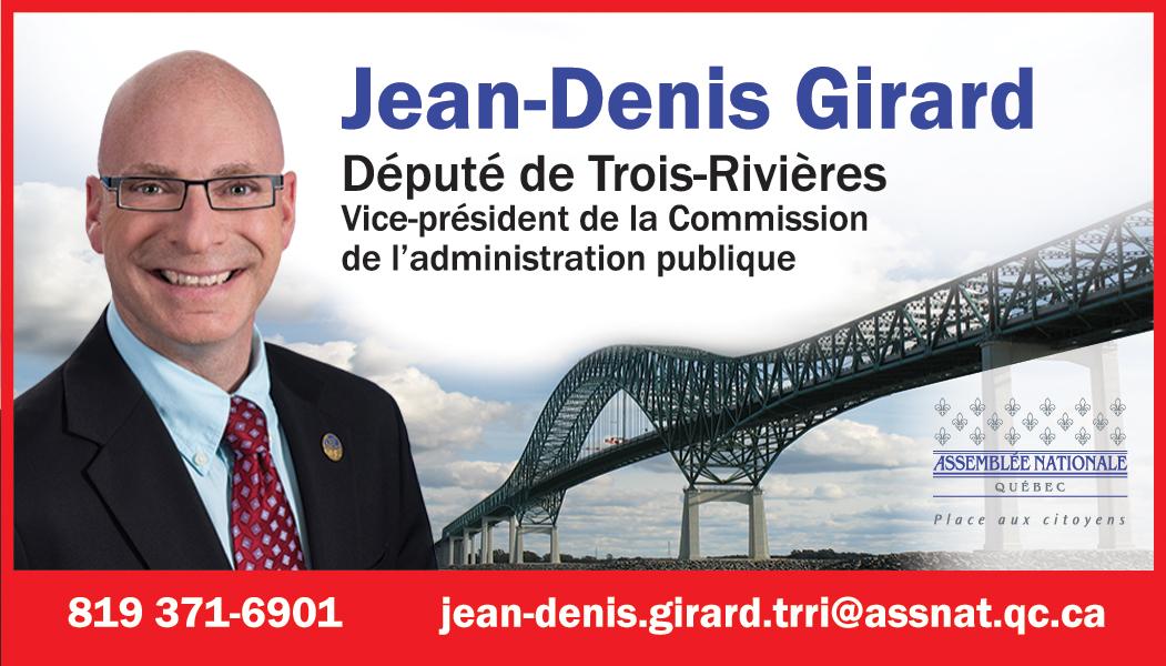Député Jean-Denis Girard