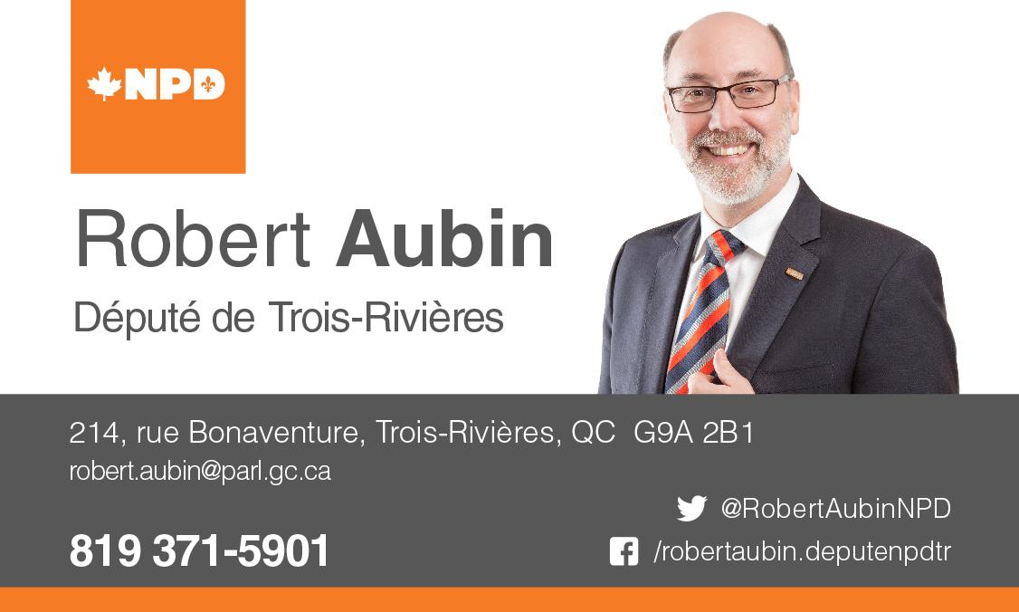 Député Robert Aubin